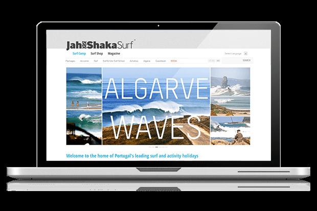 Surf website launched andy gardner web design news for Gardner website