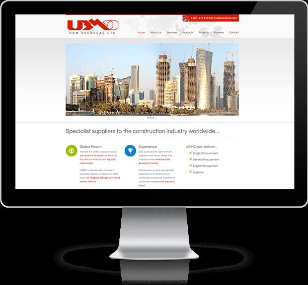 New ubmo website sets sail andy gardner web design news for Gardner website