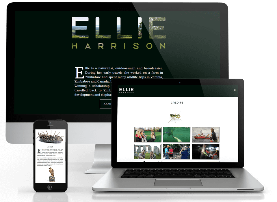 Ellie Harrison TV portfolio