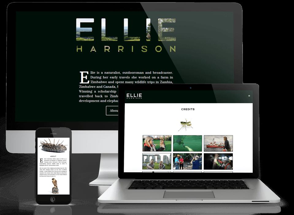 Ellie Harrison TV portfolio
